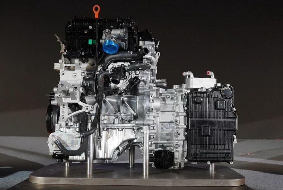 Двигатель GW4N20 и «робот» 9HDCT со встроенным электромотором.jpg